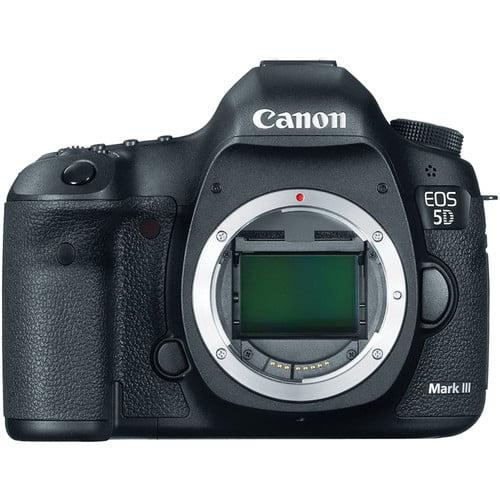 Canon EOS 5D Mark III (body only) - black