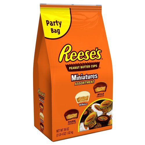 Reese's Miniatures Peanut Butter Cups Assortment, 36 oz