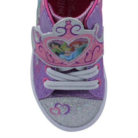 Disney Princess Ribbon High-Top Sneaker (Toddler Girls)