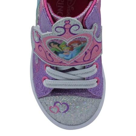 Disney Princess Ribbon High-Top Sneaker (Toddler Girls)