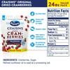 Ocean Spray Craisins Dried Cranberries, Original, 24oz Resealable Pouch