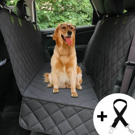 Pet Dog Car Seat Cover Nonslip Waterproof Hammock Mat Car Truck SUV Back Seat - image 3 of 7