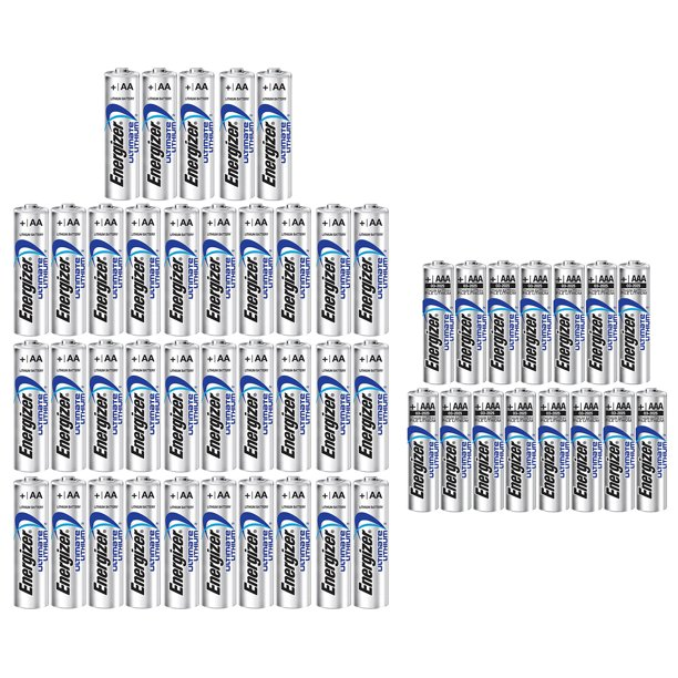 www.15aaa.com_Energizer 35AA+15AAA (50 Pack) Ultimate Lithium Long Lasting Leakproof Batteries ...