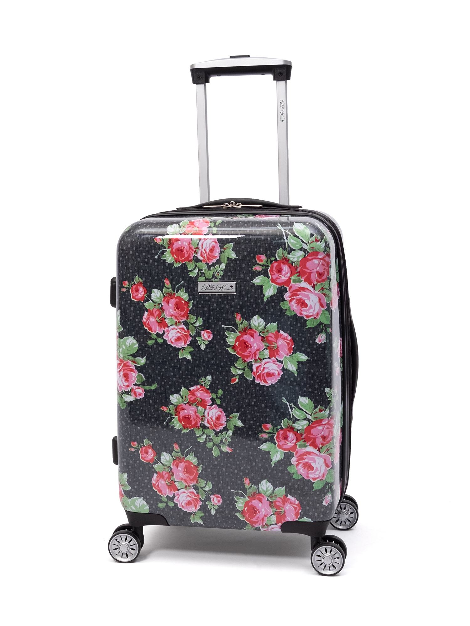 "The Pioneer Woman Hardside Luggage 20"" Carry On Suitcase"