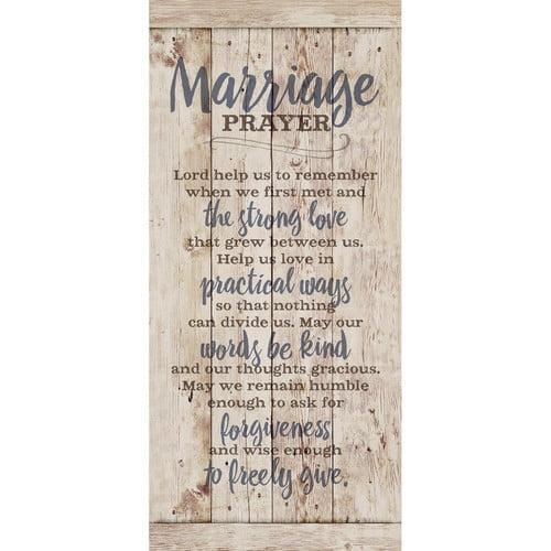 Dexsa ''Marriage Prayer '' Textual Art Plaque by DEXSA COMPANY