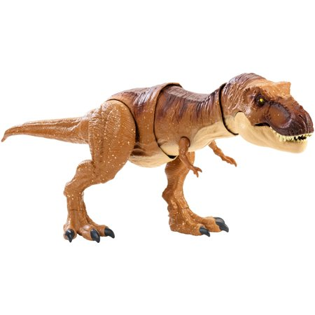 Jurassic World Thrash 'n Throw Tyrannosaurus Rex Figure - T Rex Model
