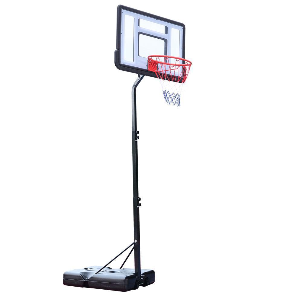 "Details about  /Basketball Hoop In-Ground 44/"" Shatterproof Backboard Adjustable System Outdoor"