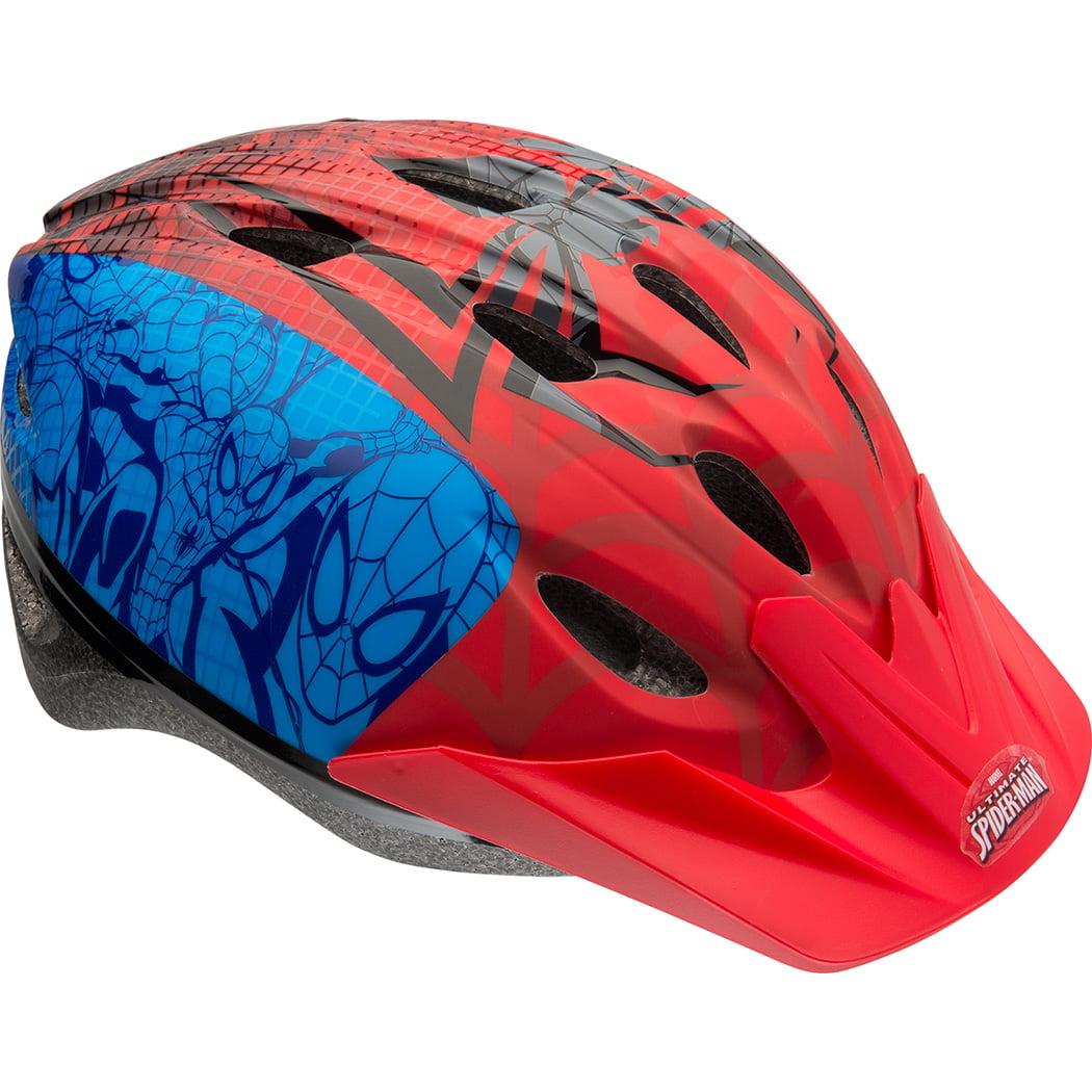 Bell Sports Marvel Spider-Man Spidey Mind Child Helmet, Red/Blue