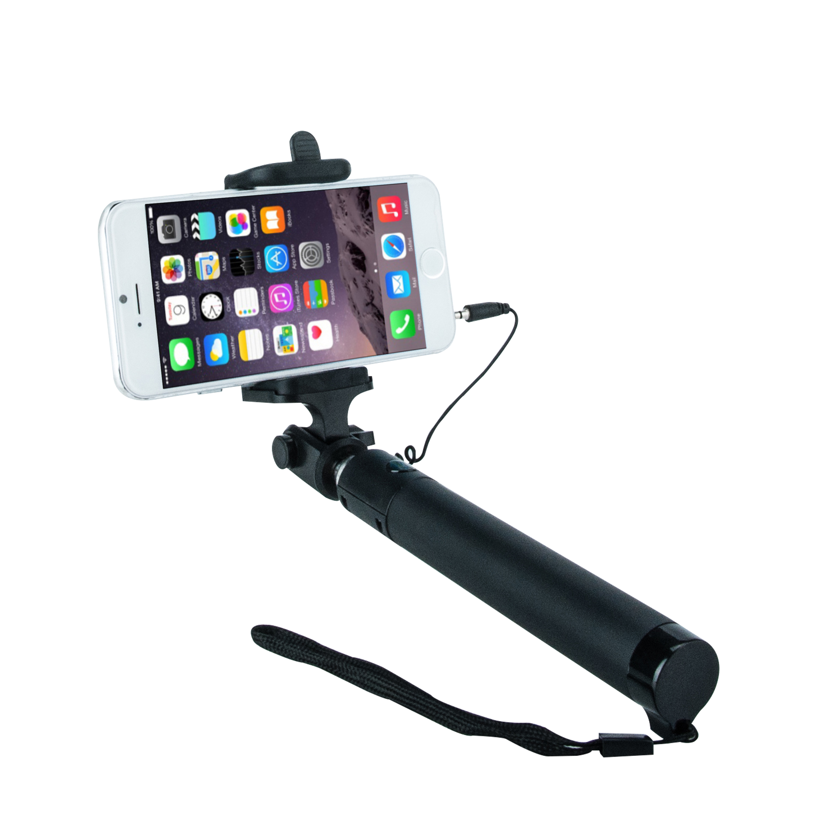 Minisuit Selfie Stick Lite 2015 Edition [Battery Free] Portable Pocket-Size Built-in Remote Shutter