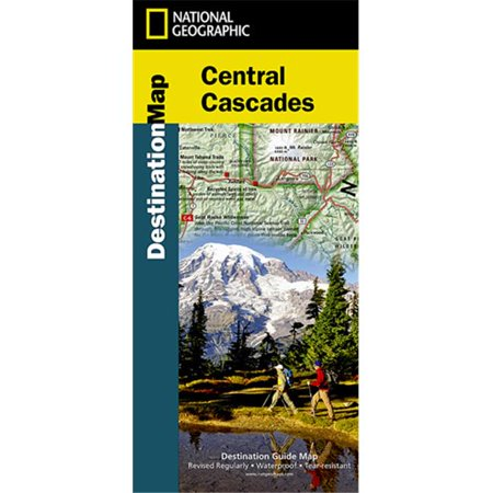 National Geographic DM01020690 Destination Map Cascades Map - image 1 of 1