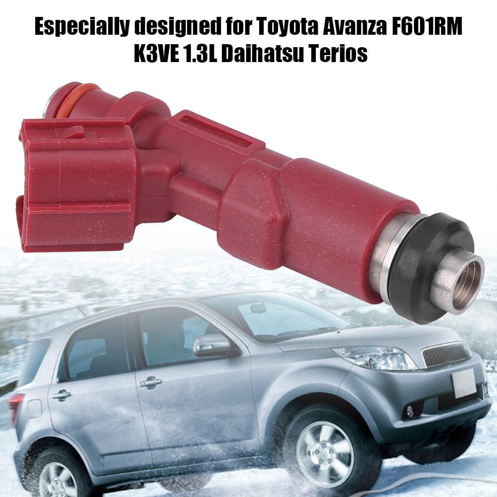 Qiilu 23250-97401 Fuel Spray Injector Nozzle for Toyota Avanza F601RM K3VE  1 3L Daihatsu Terios,Fuel Injector, Fuel Injector for Toyota