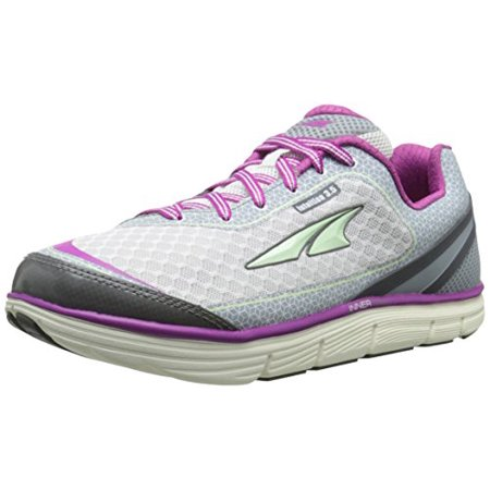 Altra Women's Intuition 3.5 Running Shoe, Orchid/Silver, 7.5 M