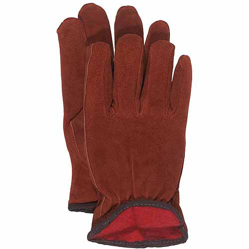Boss Large Lined Split Leather Gloves