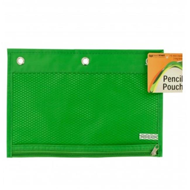 Bulk Buys OR415-48 Zippered Pencil Pouch for 3-Ring Binders - 48 Piece