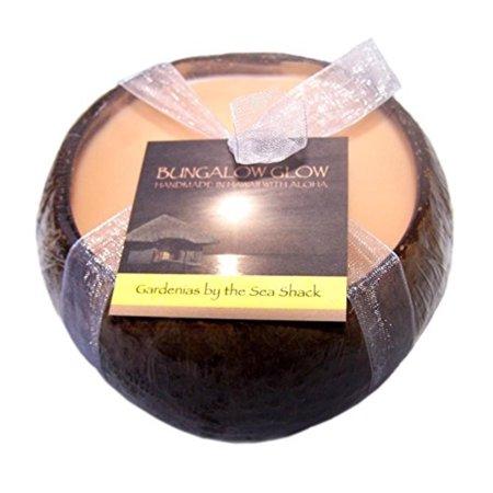 Hawaii Bubble Shack Coconut Candles 4 Pack Gardenias Seashack