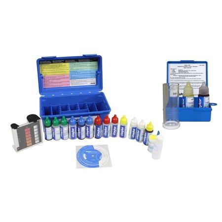Taylor Complete Swimming Pool/Spa Test Kit +  Sodium Chloride Salt Water (Best Test Kit For Saltwater Pool)