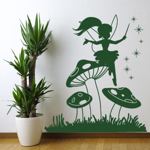 Style and Apply Emily Elf Wall Decal