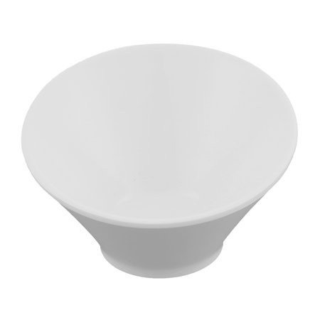 Unique BargainsHome Restaurant Tall Slant Bowl Soy Sauce Dish White - Slanted Bowls