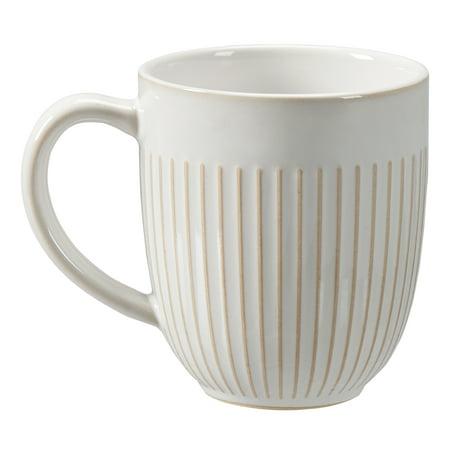 Better Homes & Gardens Modern Farmhouse Mix & Match 16 Oz. Striped Mug by Better Homes & Gardens