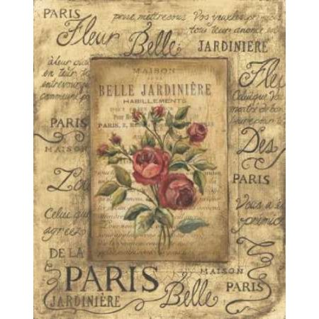 Bel Bouquet Ii Poster Print By Kimberly Poloson