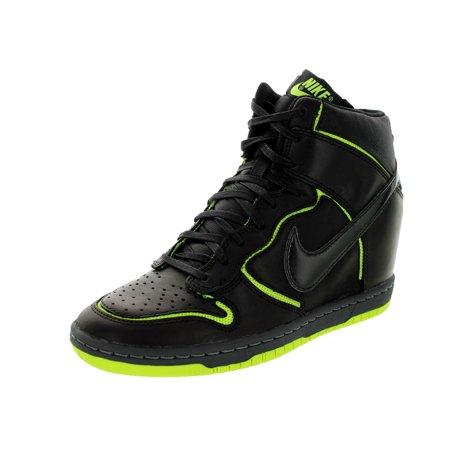 Nike Women s Dunk Sky Hi Cut Out Prm Casual Shoe - Walmart.com d9a29746c85f