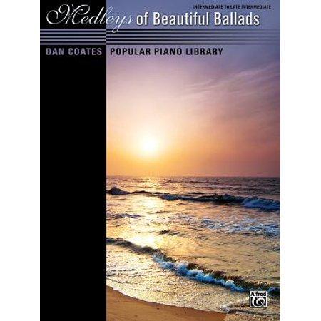 - Dan Coates Popular Piano Library -- Medleys of Beautiful Ballads