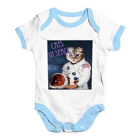 Walmart Baby Girl Clothes Enchanting Baby Unisex Baby Grow Bodysuit Cats In Space Baby Girl Clothes