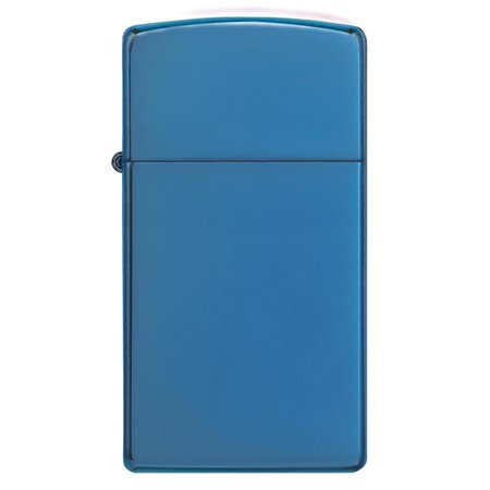 (Zippo 20494 Windproof Lighter High Polish Blue Slim Case)