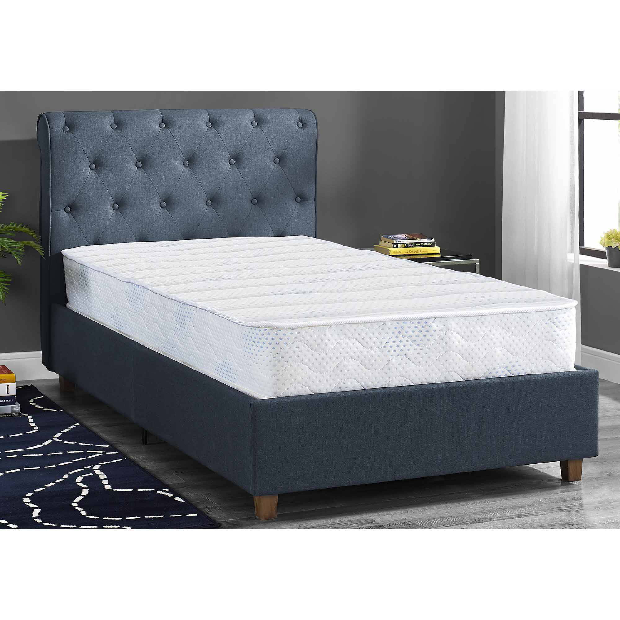 "Mainstays 8"" Independently Encased Coil Mattress, Multiple Sizes by Dorel Home Products"