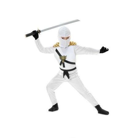 Halloween Ninja Avenger Series 1 Child Costume - White](Halloween Series In Order)