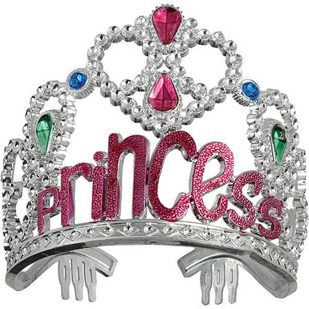Jeweled Plastic Princess Tiara