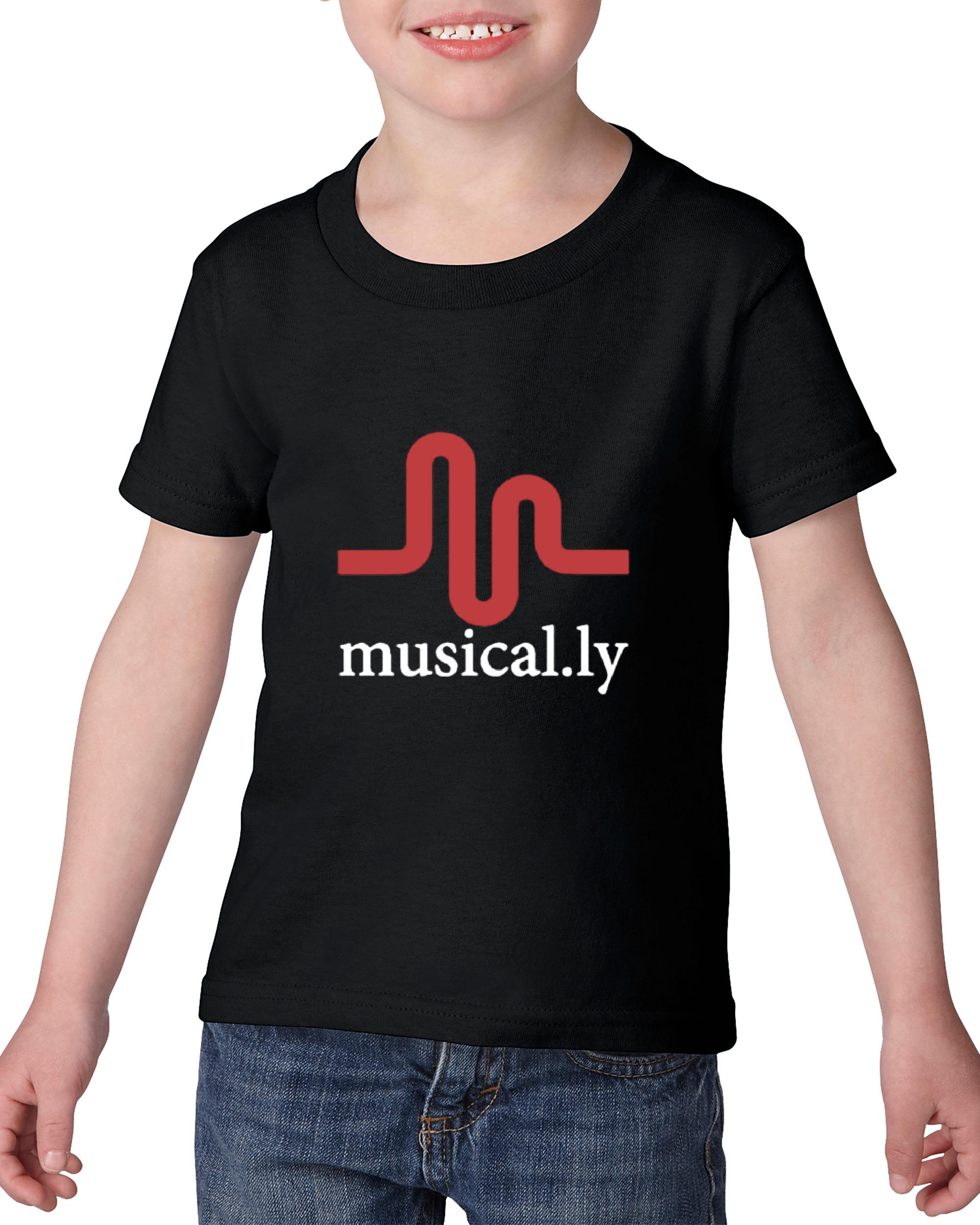 Artix Musical.ly Toddler Kids T-Shirt Tee Clothing