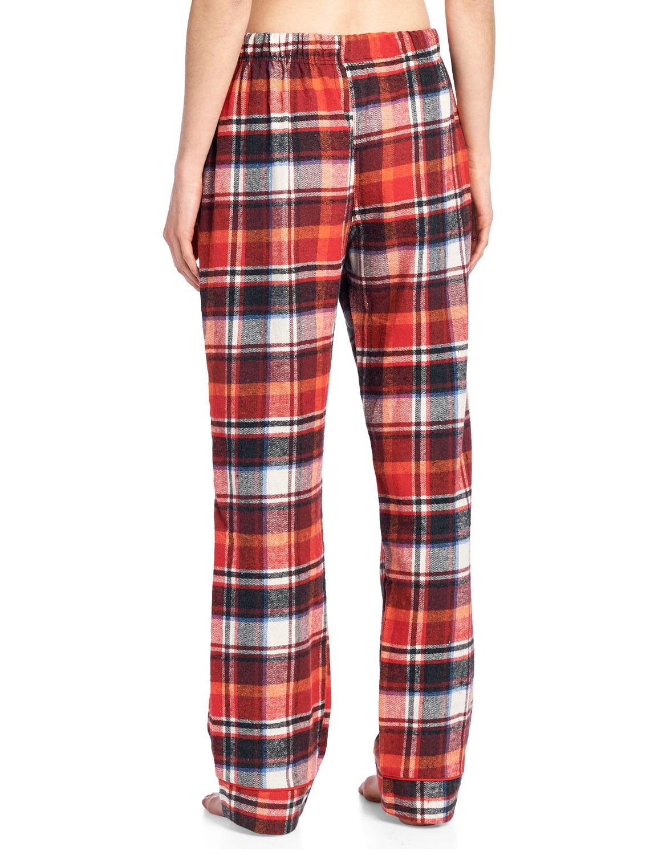 fe8fe7b7a0 Ashford   Brooks - Ashford   Brooks Women s Super Soft Flannel Plaid Pajama  Sleep Pants - Black Ivory - X-Large - Walmart.com
