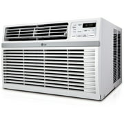 LG 8,000 BTU 115V Window-Mounted Air Conditioner with Remote Control