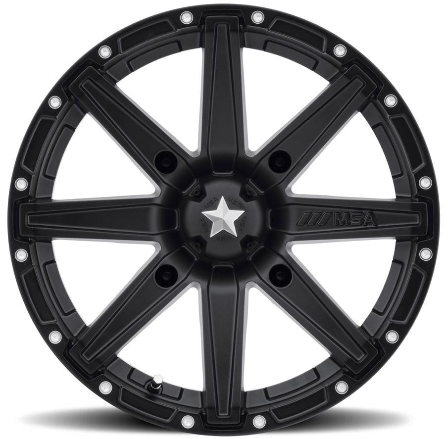 KMC-XD Wheels M33-04756 XDWM33-04756 CLUTCH 14x7 4x156.00 SATIN BLACK (0 mm)