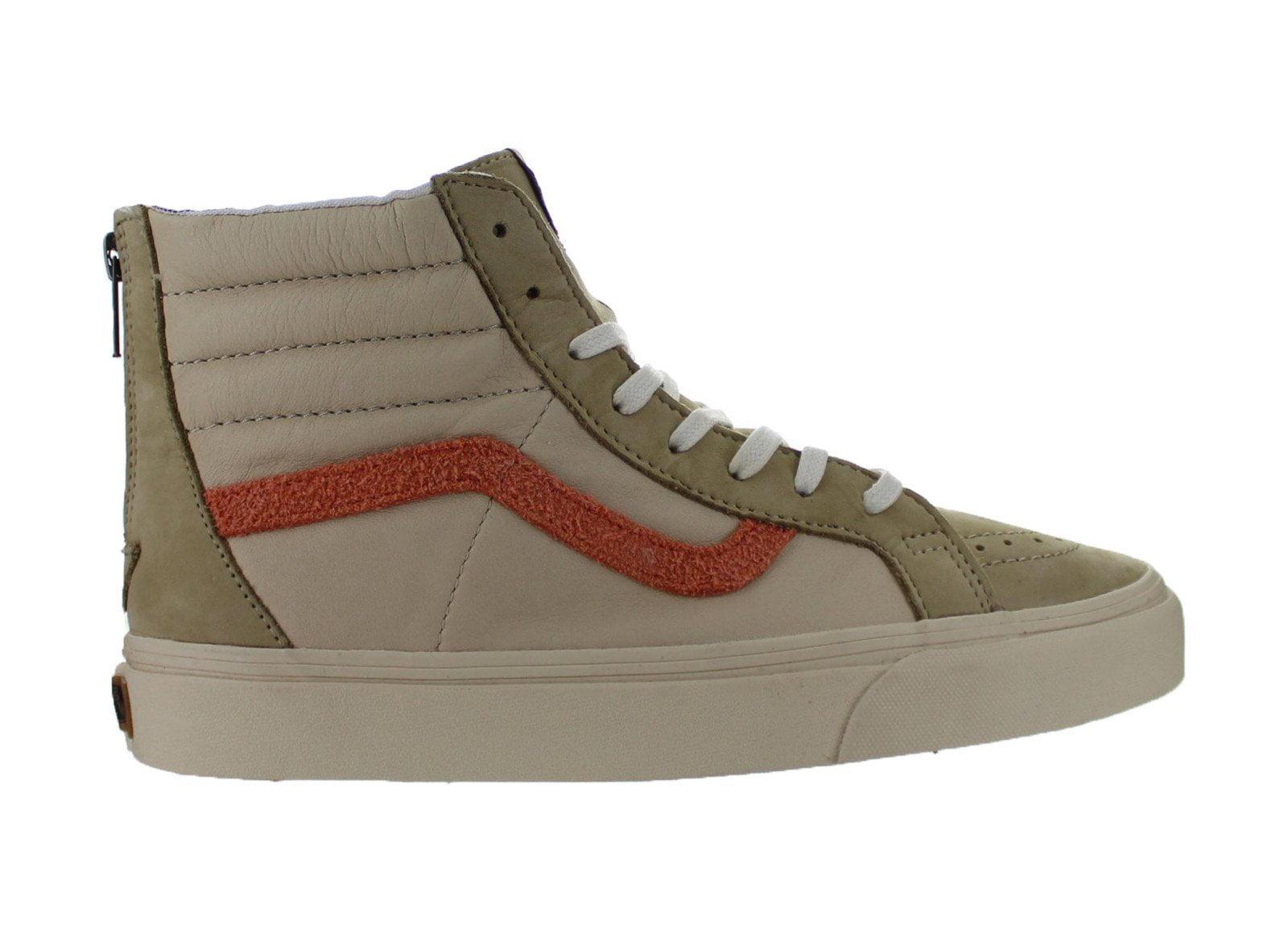 Mens Vans SK8-Hi Zip + Leather Nubuck Suede Starfish VN0004PCIFW -  Walmart.com