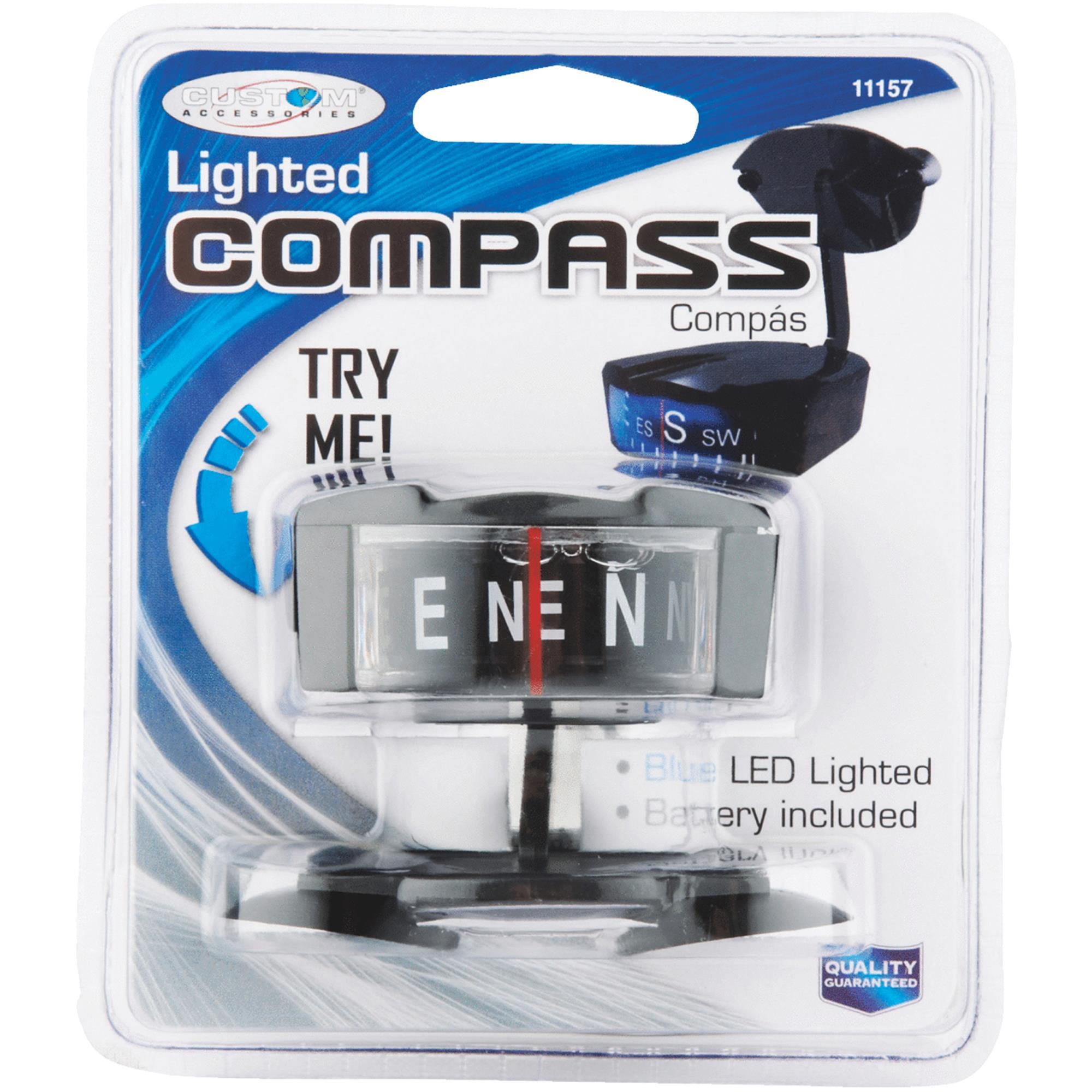 Custom Accessories Lighted Compass