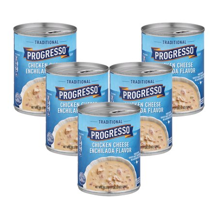 (5 Pack) Progresso Soup Chicken Cheese Enchilada Flavor Gluten Free 18.5 (Best Beer For Beer Cheese Soup)