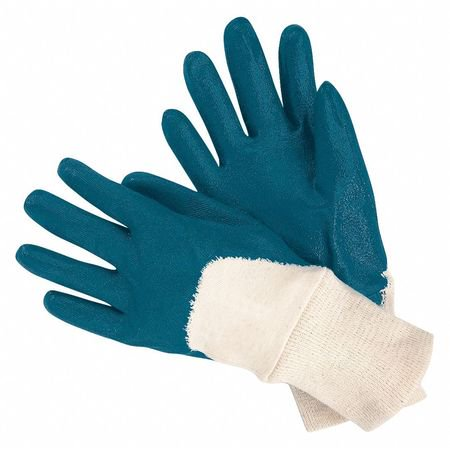 MCR SAFETY VP97980L Coated Gloves,3/4 Dip,11