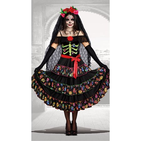Halloween Town Girl Dead (Dreamgirl Women's Lady of the Dead)