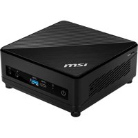 MSI Cubi 5 10M-025US Desktop Computer - Intel Core i5-10210U - 8GB - 512GB SSD - Intel HD Graphics 620 - Windows 10 Home - Mini PC - Black