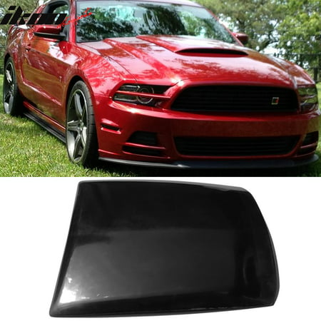 Fits 13-14 Mustang V6 GT Boss Air Hood Vent Scoop Unpainted Black PU