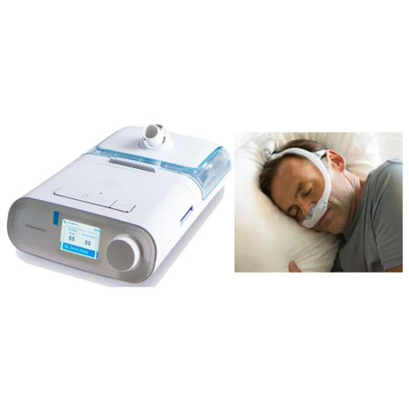 Bundle Deal: DreamStation Auto CPAP Machine (DSX500H11) and DreamWear Gel Nasal Pillow Fit-Pack (1124984) by Philips Respironics (No (Best Cpap Nasal Pillow)