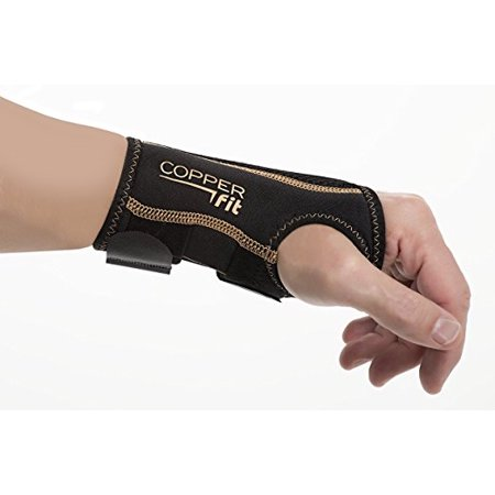 Copper Fit Compression Wrist Sleeve Copper Wrist Support Recovery