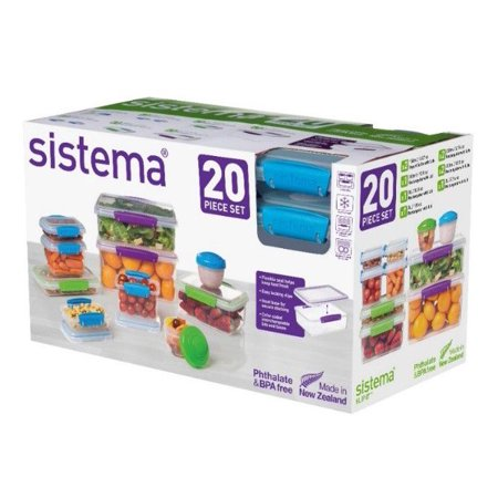 Product of Sistema KLIP IT Collection 20-Pc. Food Storage Container Set [Biz Discount]
