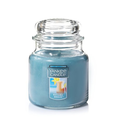 Medium Jar Candle, Bahama Breeze By Yankee Candle for $<!---->