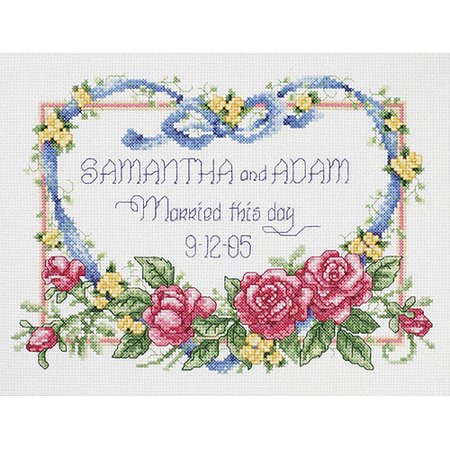 Janlynn Down For A Nap Sampler Counted Cross Stitch Kit  14  X 9 1 2   14 Count