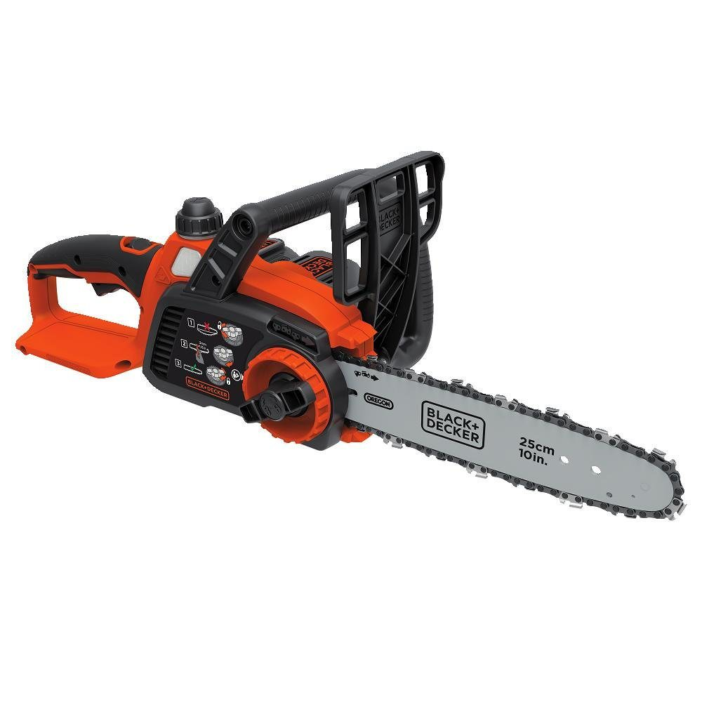 Click here to buy Black & Decker LCS1020 20V MAX* Lithium 10 in. Chainsaw by Stanley Black & Decker, Inc.