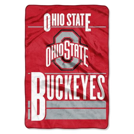 NCAA Ohio State Buckeyes Faculty Oversized Micro Raschel 62