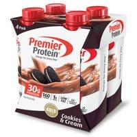 Premier Protein Shake, Cookies & Cream, 30g Protein, 4 Ct